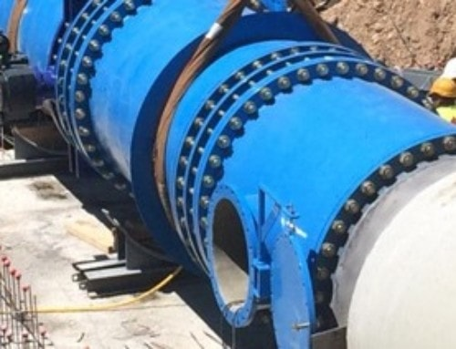 Conexión en la boca sur de la nueva tubería del CAT en el Coll de Balaguer, con afectación parcial en el suministro