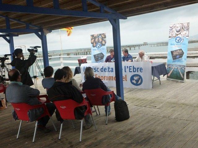 Fepromodel inici campanya musclo del Delta de l'Ebre